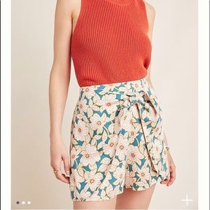 Anthropologie Skirted Shorts. NWT.